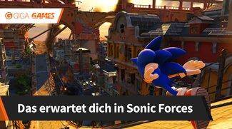Sonic Forces: So spielt sich das neue 3D-Sonic