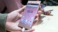 Sony Xperia XZ1 im Hands-On-Video: High-End-Smartphone mit umfangreicher 3D-Kamera