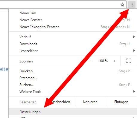 Suchverlauf löschen Chrome Einstellungen