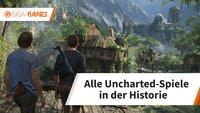 Alle Uncharted-Spiele in der Bilderstrecke: Eine beispiellose Erfolgsgeschichte