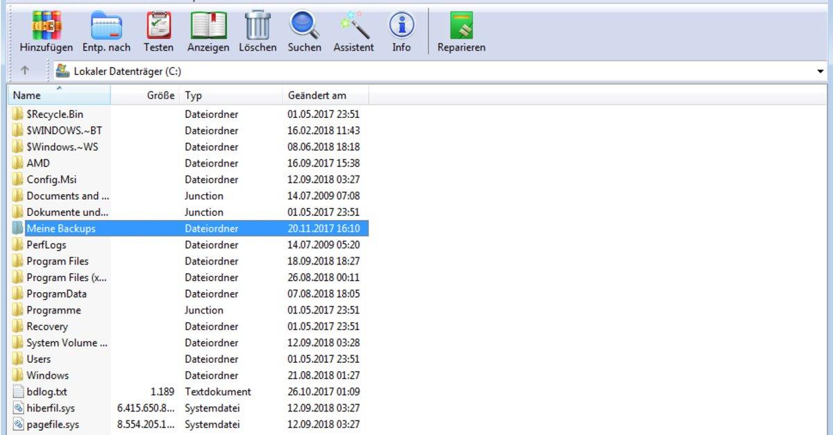 Winrar Passwort Setzen