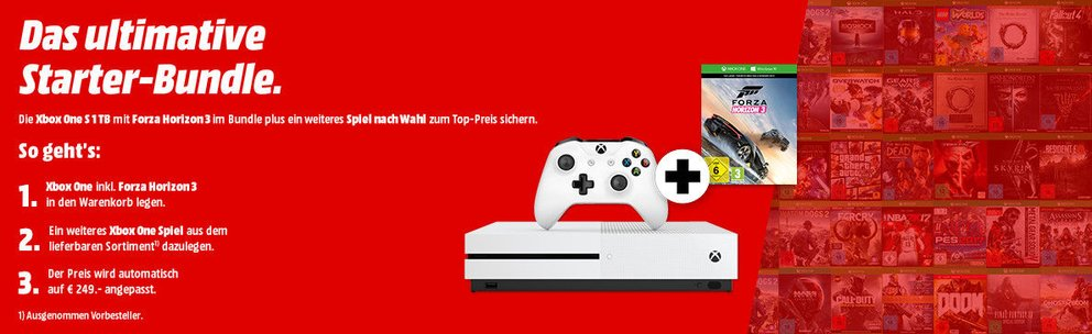 Xbox-One-S-Bundle-zusammenstellen