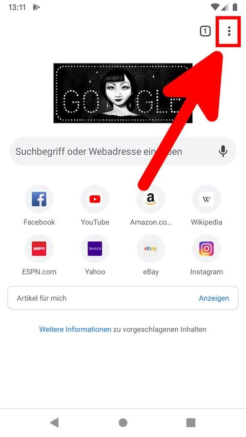 Cookies Bei Android Löschen