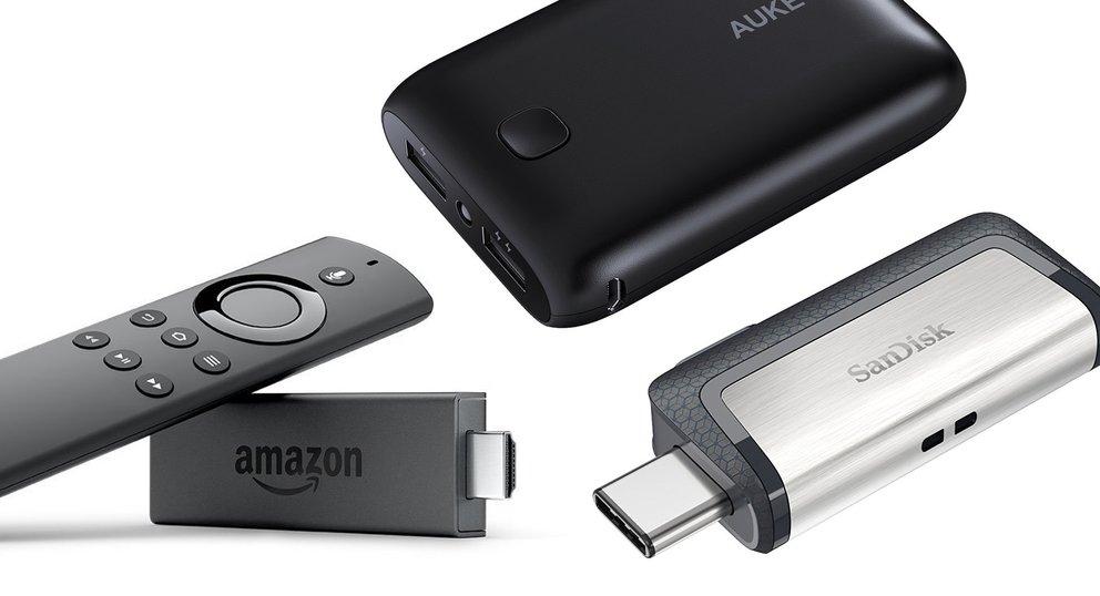 Blitzangebote: Fire TV Stick, SanDisk-Angebote, externe Akkus