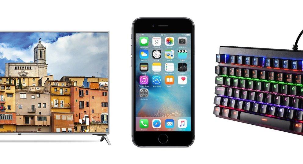 Angebote am Sonntag: USB-C-Flash-Drive, iPhone 6s, LG-TV