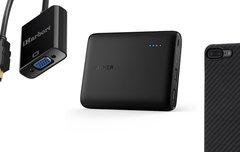 Blitzangebote: USB-C-Adapter, iPhone-Case, externer Akku