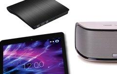 Blitzangebote: Lautsprecher, DVD-Laufwerk, Akku und mehr heute günstiger