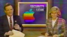 So stürzten sich schon 1988 die Medien auf geheime Apple-Dokumente