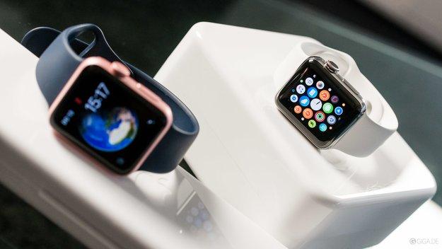 """Apple Watch: Smartwatch mit """"Killer-Display"""" in Arbeit"""