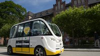 Selbstfahrende BVG-Busse in Berlin: Test auf Klinikgelände gestartet