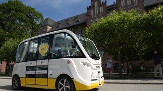 Charité-Shuttle: Autonome Kleinbusse fahren auf Berliner Klinikgelände