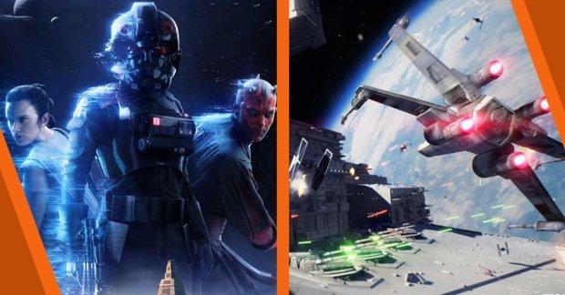 Star Wars Battlefront 2: Eindrucksvoller Trailer zu den Raumschlachten