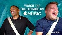 Carpool Karaoke: Erste Folge mit Will Smith bei Apple Music verfügbar