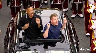 """""""Carpool Karaoke""""-Trailer zur ersten Folge –mit Will Smith und James Corden"""