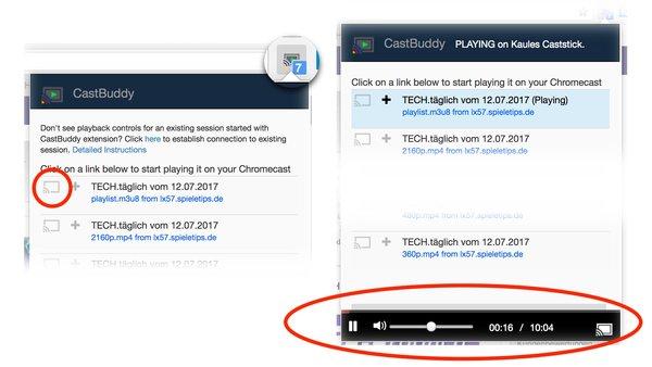 In 2 Sekunden: So beamst du jedes Video aus dem Netz auf den