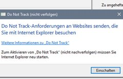 Do Not Track aktivieren –...