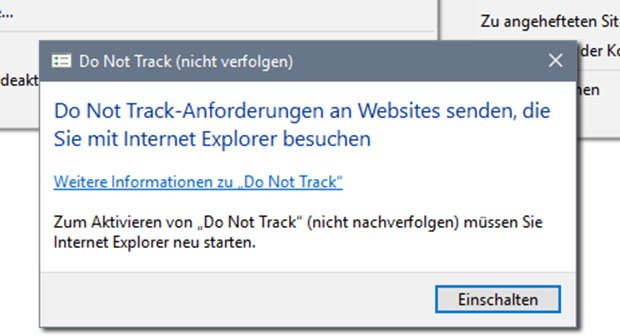Do Not Track aktivieren – (Chrome, Firefox, Internet Explorer 11 & 10)