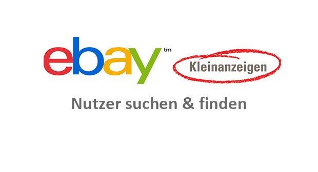 ebay kleinanzeigen suchen bekanntschaften
