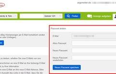 eBay Kleinanzeigen: Passwort...