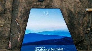 Hands-On-Fotos vom Galaxy Note 8 aufgetaucht: So sieht Samsungs neues Spitzen-Phablet aus