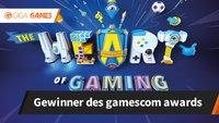 Die Gewinner des gamescom awards 2017