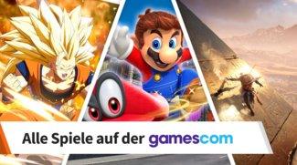 gamescom 2017: Diese Spiele findest du auf der Messe
