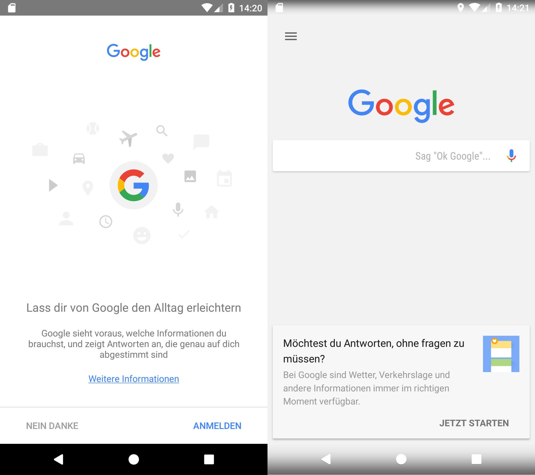 google assistant aktivieren und starten android iphone. Black Bedroom Furniture Sets. Home Design Ideas