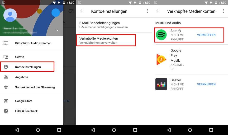 So könnt ihr Spotify mit Google Home verknüpfen.