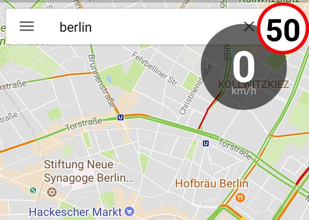 Google Maps Blitzer Anzeigen