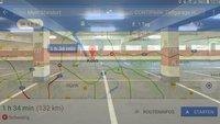 Google Maps findet vor der Fahrt freie Parkplätze am Zielort