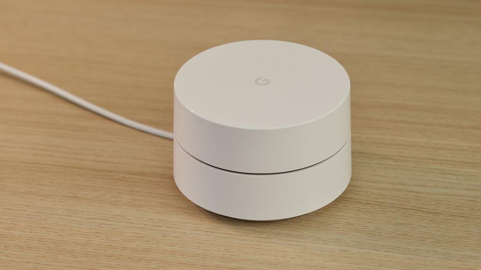 Müslischüsselgroß: Google Wifi