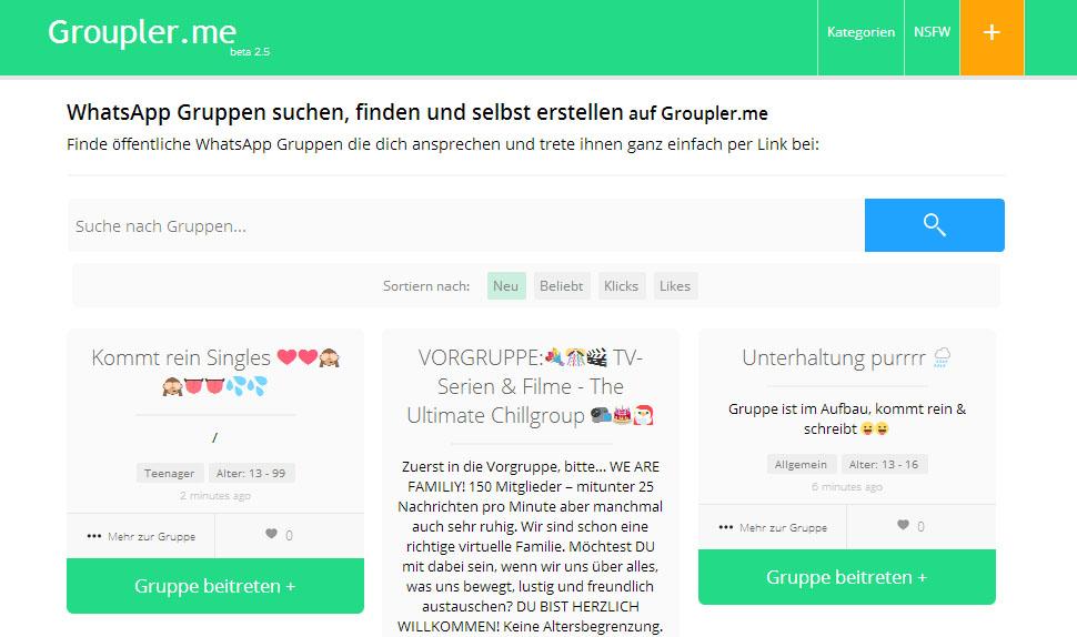 ibt-pep.de | Single WhatsApp Gruppen