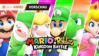 Mario + Rabbids in der Vorschau: Hasenwahn im Pilzkönigreich