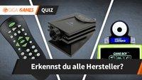 Das Gadget-Quiz: Kannst du diese Hardware ihrem Hersteller zuordnen?