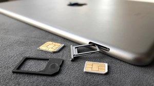 Welches iPad benötigt welche SIM-Karte?