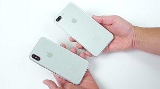 iPhone 8 und 7s Plus im Vergleich: Glas-Dummys mit einer Neuerung