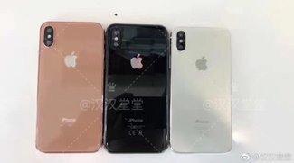 In diesen drei Farben soll es das iPhone 8 geben
