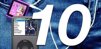 Die 10 bedeutendsten Modelle des iPod