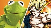 Dragon Ball Xenoverse: So witzig ist es, wenn Kermit gegen Son Goku kämpft