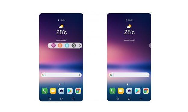 Gutes Vorbild? Neue Oberfläche fürs LG V30 erinnert an Samsung