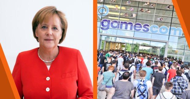 Diese Stände besucht Kanzlerin Merkel auf der gamescom 2017