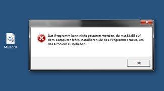 Lösung: mss32.dll fehlt – Spiel / Programm funktioniert nicht