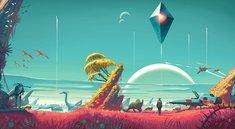 No Man's Sky: Spieler malt gigantisches Entwickler-Porträt aus Platten