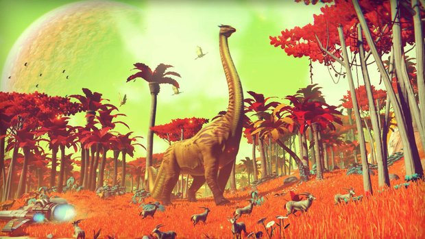 No Man's Sky: Positive Spielerreaktionen auf das neuste Update