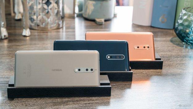 Nokia 8 lässt Samsung Galaxy S8 alt aussehen: Update auf Android 8.1 ist da