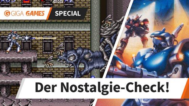 Nostalgie-Check: So hart ist Super Probotector für das SNES heute noch