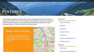 OsmAnd Karten: Was bietet die App im Vergleich mit Here WeGo