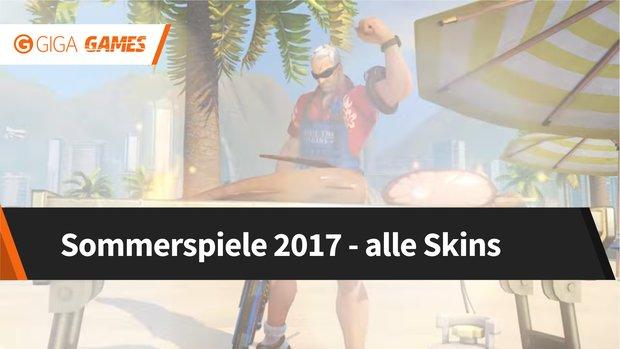 Overwatch: Sommerspiele 2017 - alle Skins, die ihr bekommen könnt