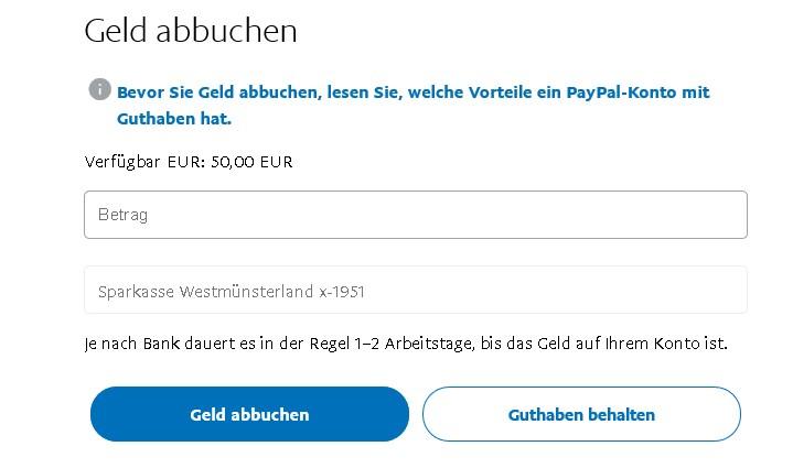 Paypal Geld Zurück überweisen