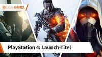 Das waren die Launch-Titel der PlayStation 4